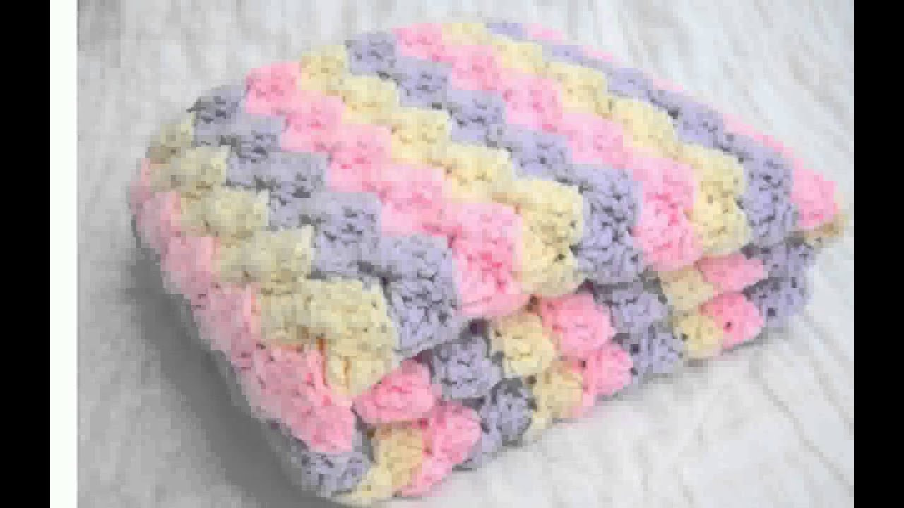 Crochet A Baby Blanket : Baby Blankets To Crochet - YouTube