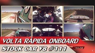 stock car v8 111 volta rpida onboard com rubens barrichello 78   acelerados
