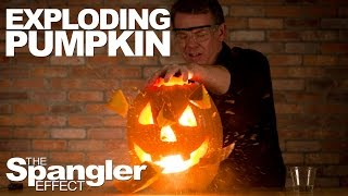 How to do the Exploding Pumpkin