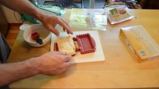 Mini Pie Maker Ham Sandwich Review