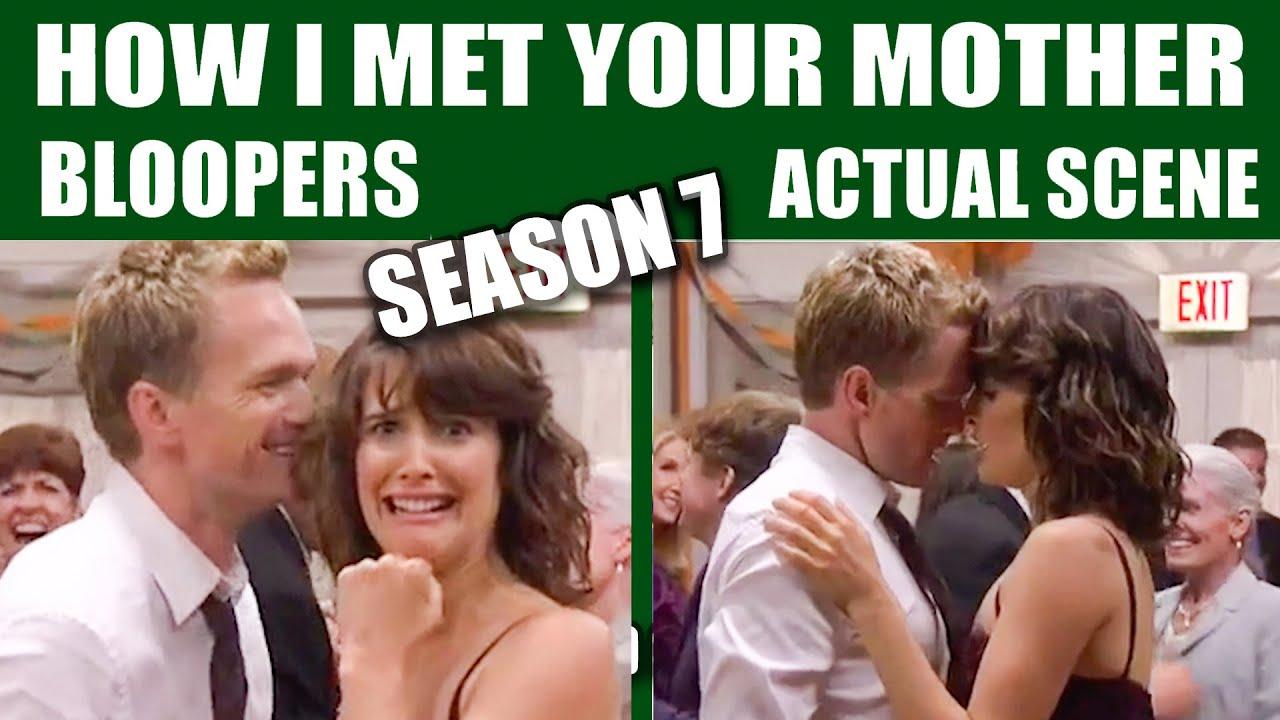 Download How I Met Your Mother | Season 7 Bloopers vs Actual Scenes