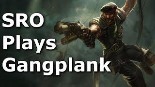 Gangplank Top Lane Commentary - Season 6 - League of Legends