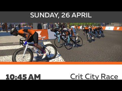 Zwift City Crit Race D Youtube