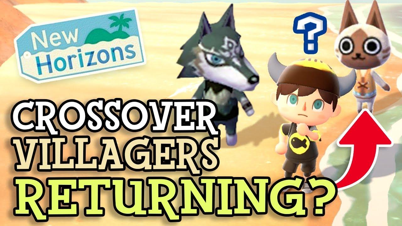 Animal Crossing New Horizons: CROSSOVER VILLAGERS RETURNING? (Zelda & Splatoon Characters Revealed)