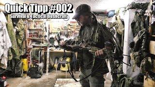 Bushcraft & Survival Multi-Streichhölzer für widrige Wetterbedingungen usw. Quick Tipp#002