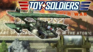 Toy Soldiers: Cold War - Giant Flying Tanks !?! - Toy Soldiers Cold War Gameplay Part 1