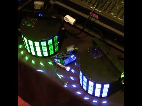 Using Donner Wireless DMX for Master/Slave Mode (no controller)