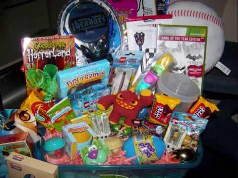 Huge easter basket for 10 year old boy youtube huge easter basket for 10 year old boy negle Gallery