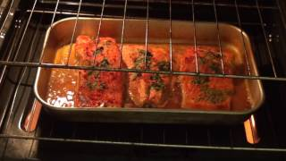 Salmon - How to cook salmon in the oven. #9 subscribecheck out my other videos