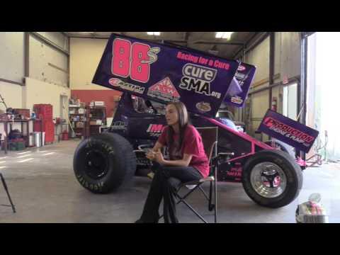 Oklahoma City 305/360 Sprint Car Driver Shayla Waddell Talks About Racing