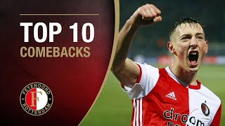 TOP 10 COMEBACKS | #FeyenoordThuis