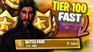 How to RANK UP FAST in Fortnite Season 3 (Unlock Tier 100 Glitch) *Fortnite Season 3 MAX Battle Pass