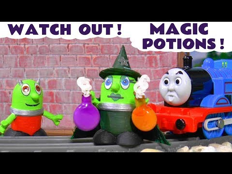 Funny Funlings Fun Story for kids - Saving The Magic Potions with Witch Funling