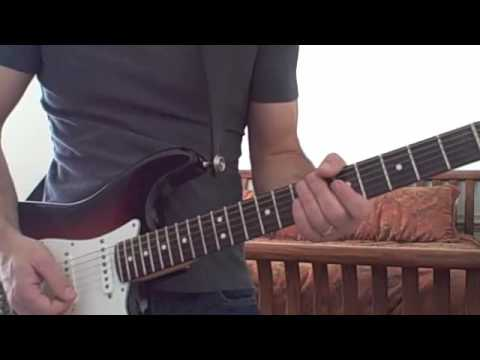 Cold Shot-Stevie Ray Vaughan-SRV (guitar cover)