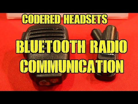 SHOT Show 2016: CodeRed Headsets Bluetooth Radio Communications