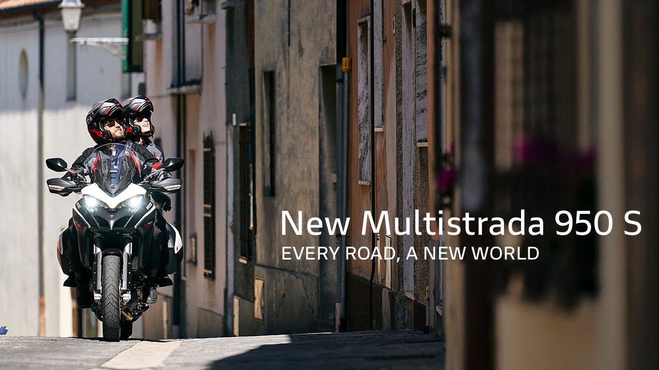 New Multistrada 950 S GP White | Every road, a new world