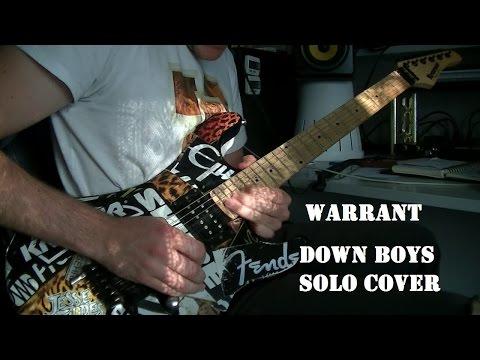 Warrant - Down Boys (solo cover)