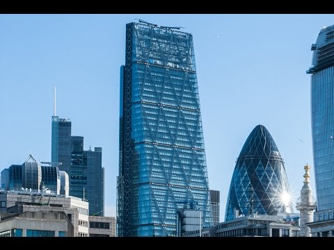 Iconic Skyscarper in City Of London: Leadenhall Building (Cheesegreater)