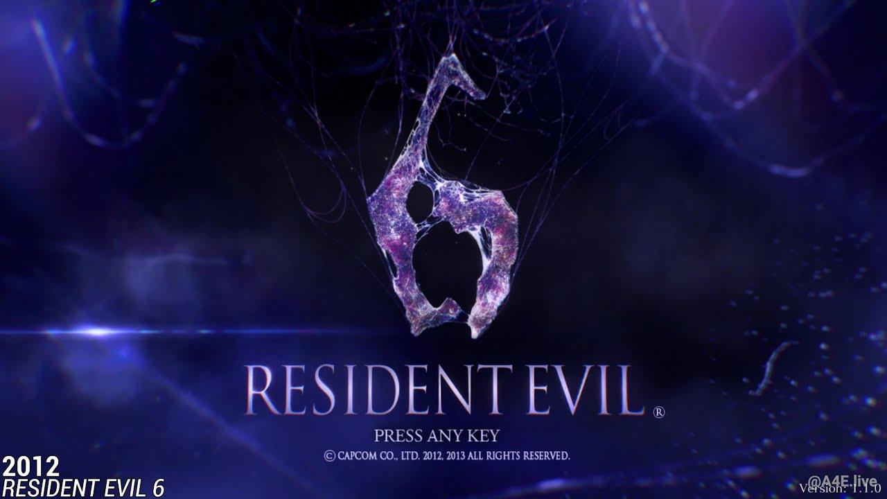 Download Resident Evil START-SCREEN Evolution (1996-2021)