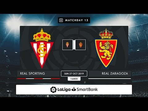 Real Sporting - R. Zaragoza MD13 D1600