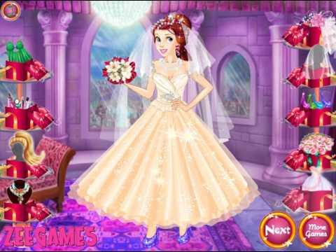 Игра барби в свадебном платье