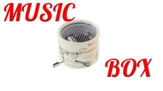 ✔МУЗЫКАЛЬНАЯ ШКАТУЛКА |  aliexpress $ 3.49  | MUSIC BOX