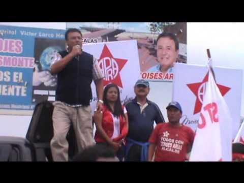 Caminata de apoyo a la Campaña de Moises Arias PAP 20-07-14