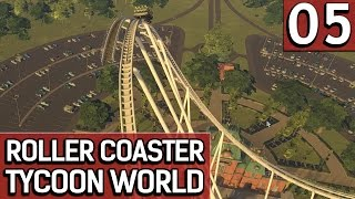 Roller Coaster Tycoon World BETA 1 #5 Nass untenrum deutsch german HD