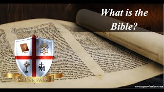 1  What is the Bible?