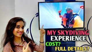 My First Lifetime Experience of Skydiving | Full Details Explained | Indian Girl Visits Australia |
