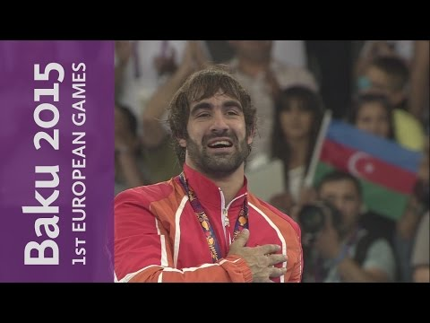 Rafael Aghayev Claims Gold In Men's Kumite 75kg | Karate | Baku 2015
