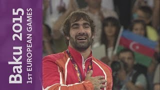 Rafael Aghayev claims Gold in Men