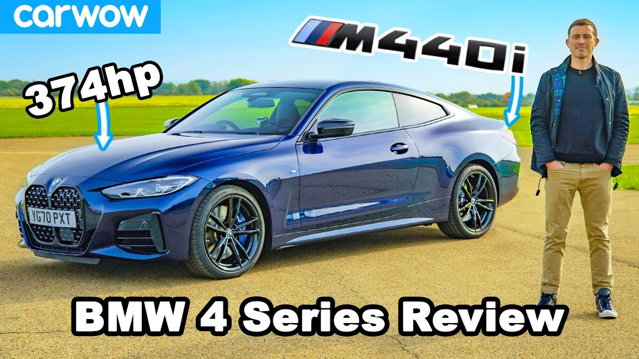 BMW 4 Series M440i review: see how quick it is to 60mph! - carwow