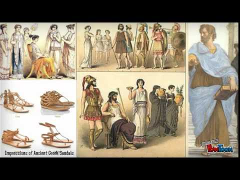 Ancient Greek Hairstyles and Clothing