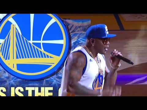 Flo Rida ? 2017 NBA Finals halftime performance (Game 3)