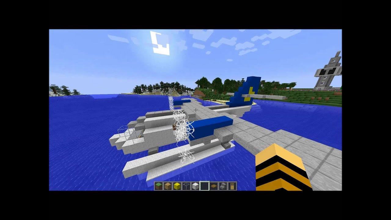 Minecraft Water Plane Youtube