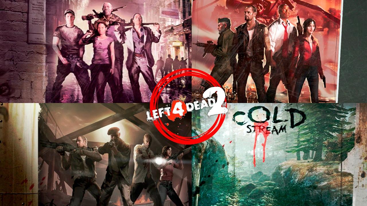 Left 4 Dead 2 - En Directo #LIVE en EXPERTO - All Campaigns L4D2 DLC /  Todas las Campañas L4D2 DLC