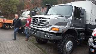 Mercedes-Benz Zetros 6x6 | Unimog 5023 | Technik Talk
