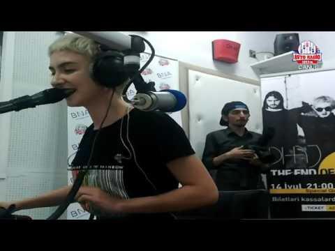 Dihaj interview for Avto Radio Baku 107.7   Dihaj interview