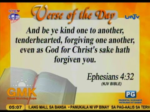 Verse of the Day: And be ye kind one to another