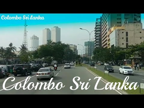 Colombo City tour Beautiful Streets of Colombo Sri Lanka කොළඹ නගර සංචාරය コロンボ市内観光 Bellagio Casino