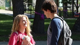 Picking Up College Babes by pretending to know them!!