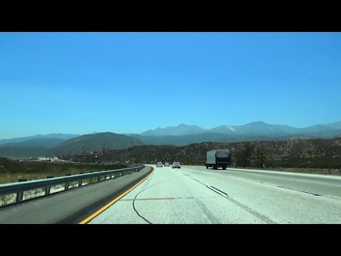 Interstates 215 & 15 California: Cajon Pass & the New Devore Interchange