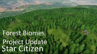 Star Citizen Update | Forest Biomes & Procedural Tech