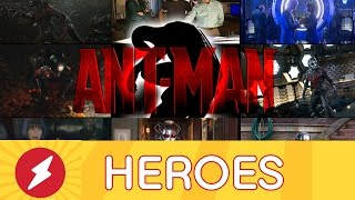 AMC Heroes Episode 12 - New ANT-MAN Pics, Batman Rides Jokermobile in SUICIDE SQUAD