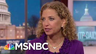 Debbie Wasserman Schultz On Pelosi, Florida Recount And The Mueller Probe | MTP Daily | MSNBC