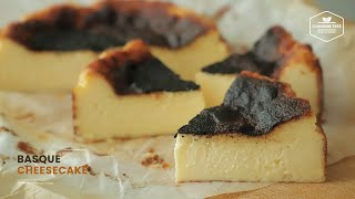 바스크 치즈케이크 만들기 : Basque Burnt C…