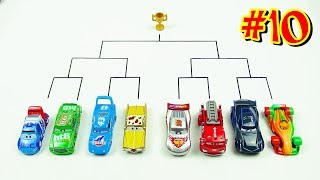 Cars 3 Toys Crazy 8 Demolition Derby Tournament vol 10 Jackson Storm Lightning McQueen Chick Hicks
