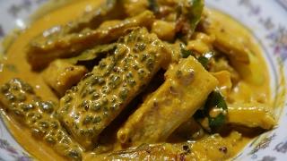 Sri Lankan Boiled Bitter gourd curry