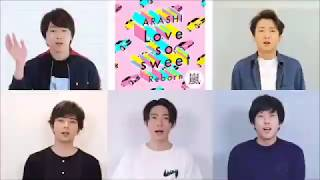 Gambar cover 嵐/Arashi speak English 「Love So Sweet : Reborn」